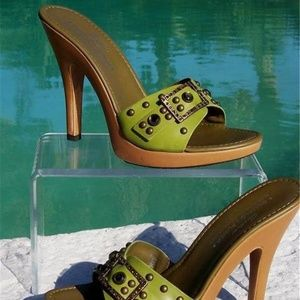 Couture Nappa Leather Shoe New Gemstones Grommets
